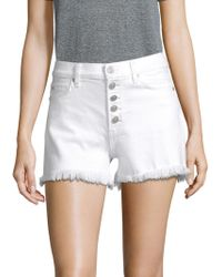 Hudson Jeans - Zoeey High Rise Shorts - Lyst