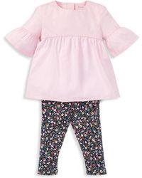 Ralph Lauren - Baby Girl's Two-piece Top And Leggings Set - Lyst