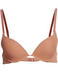 68f24b6a304f5 Lyst - La Perla Begonia Wireless Triangle Bra in Pink