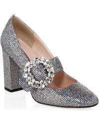 SJP by Sarah Jessica Parker - Celine (silver Scintillate) Women's Shoes - Lyst
