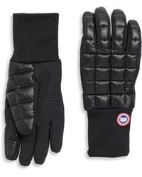 Canada Goose - Northern Quilted Gloves - Lyst