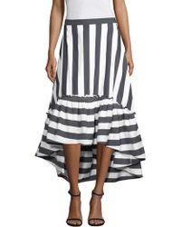 Trina Turk - Rosamund 2 Striped Flared Skirt - Lyst