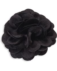 Hook + Albert - Solid Glitter Lapel Flower - Lyst