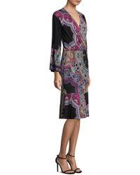 Etro - Jungle Paisley-print Dress - Lyst
