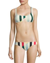 Solid & Striped - The Elle Bikini Top - Lyst