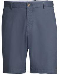 Peter Millar - Men's Cotton Twill Shorts - Navy - Lyst