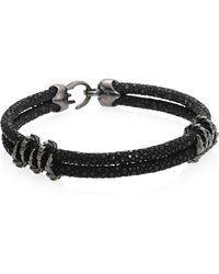 Stinghd - Black Platinum Stingray Bracelet - Lyst