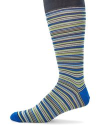 Saks Fifth Avenue - Multicolored Striped Socks - Lyst
