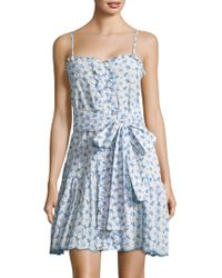 Lisa Marie Fernandez - Cornflower Shift Dress - Lyst