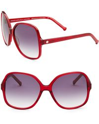 Colors In Optics - Orifina Ii Rounded Square Sunglasses - Lyst