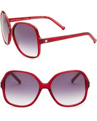 Colors In Optics - Orifina Ii Rouned Square Sunglasses - Lyst