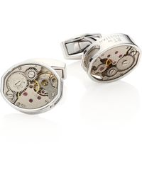 Tateossian - Skeleton Exposed Limited Edition Gear Cuff Links - Lyst