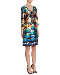 Mary Katrantzou | Shea Silk Dress | Lyst