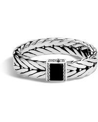 John Hardy - Modern Silver Link Bracelet - Lyst
