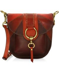 Frye - Ilana Colorblock Saddle Bag - Lyst