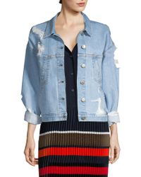Public School - Polly Denim Jacket - Lyst