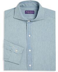 Ralph Lauren Purple Label - Purple Label Keaton Regular-fit Dress Shirt - Lyst