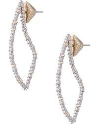 Alexis Bittar - Abstract Thorn Swarovski Crystal Post Earrings - Lyst