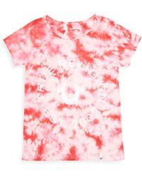 True Religion - Little Girl's & Girl's Tie Dye Logo Tee - Lyst