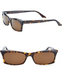 Andy Wolf - 53mm Rectangular Sunglasses - Lyst