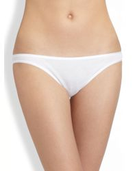 Hanro - Cotton Seamless High-cut Brief - Lyst
