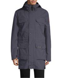 Canada Goose - Harbor Hooded Waterproof Rain Jacket - Lyst