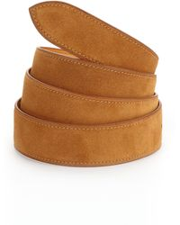 Corthay - French Suede Belt - Lyst