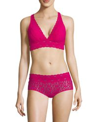 Wacoal - Halo Lace Soft Cup Bra - Lyst