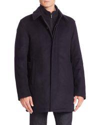 Sanyo - Wool Cashmere Blend Jacket - Lyst