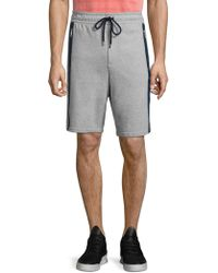 Vilebrequin - Active Dramon Terry Cotton Heathered Shorts - Lyst