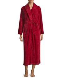 Natori - Long Sleeve Robe - Lyst