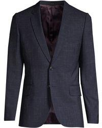 Paul Smith - Soho Linen & Wool Check Jacket - Lyst
