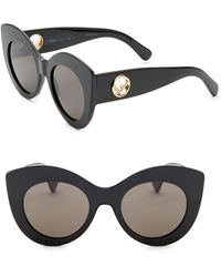 Fendi - 50mm Cat Eye Sunglasses - Lyst