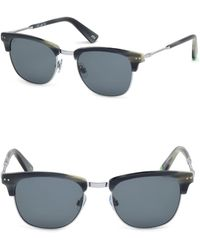 Web - 51mm Square Sunglasses - Lyst
