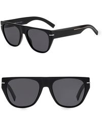 449ec295ef1 Lyst - Dior Homme  black Tie  51mm Polarized Sunglasses in Black for Men
