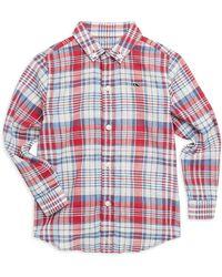 Vineyard Vines - Little Boy's & Boy's Firework Plaid Shirt - Lyst