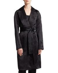 St. John - Sequin Silk Organza Jacket - Lyst
