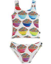 Terez - Little Girl's Two-piece Candy Bowl Sports Tankini Set - Lyst