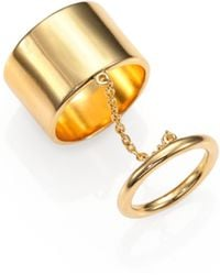 Elizabeth and James | Mies Knuckle Ring | Lyst