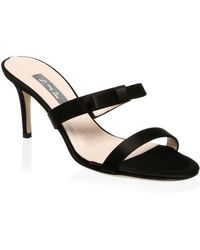 SJP by Sarah Jessica Parker | Juliet Satin Sandals | Lyst