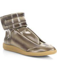 Maison Margiela - Future Hologram Hi-top Sneakers - Lyst