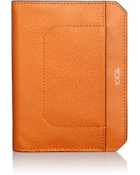 Tumi - Embossed Leather Passport Cover - Lyst