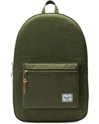 Herschel Supply Co. - Men's Classics Settlement Backpack - Olive Night - Lyst