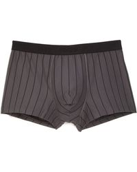 Hanro - Shadow Boxer Striped Cotton Boxer Briefs - Lyst