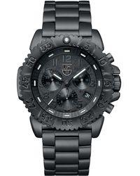 Luminox - Navy Seal Steel Colormark Chronograph Watch - Lyst