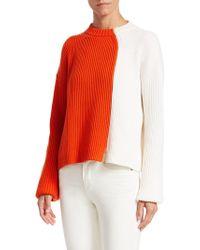 Loro Piana - Zante Cashmere Bicolor Ribbed Sweater - Lyst