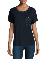 Feel The Piece - Gabels Stars Pocket Tee - Lyst