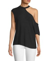 RTA - Axel Cutout Shoulder Tee - Lyst