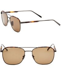 Ferragamo - 56mm Aviators Sunglasses - Lyst