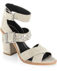 Rebecca Minkoff - Jennifer Leather Sandals - Lyst